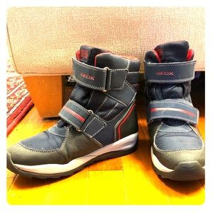 GEOX youth Respira winter boots